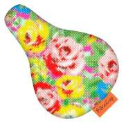 BikeCap Saddle Cover Children´S Bike Stitchy Flowers