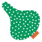 BikeCap Saddle Cover Green Dot