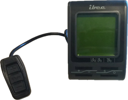 Bikkel iBee Luxe LCD Display Middenmotor + Remote