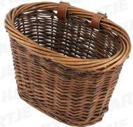 Brave Childrens Basket Rattan - Natural Brown