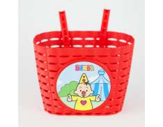 Bumba Bicycle Basket - Red