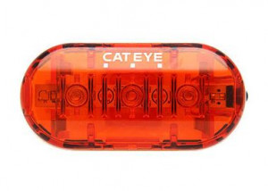 Cateye Achterlicht OMNI3 TL-LD135R 3 LED 2 AAA Battery