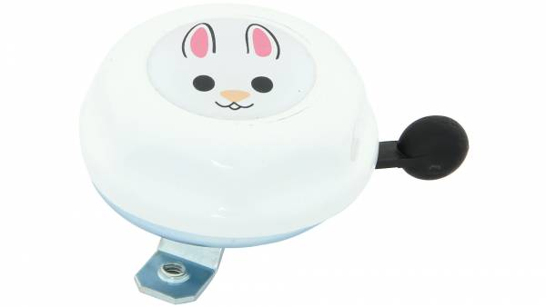Contec Children's Bicycle Bell Junior Hare White | Bells