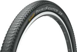 Continental Double Fighter 3 Buitenband 24x1.75 - Zwart