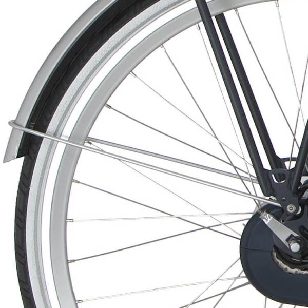 Cortina Achterspatbord Stang 28 Inch tbv Ecomo Wave - Zilver