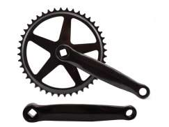 Crankset Cotterless 44 Tooth Crank Length 170mm Black/Silver