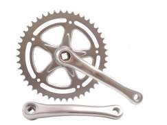 Crankset Cotterless 46 Tooth Crank Length 170Mm Silver