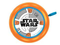Disney Star-Wars BB8 Børneklokke Ø55mm - Orange/Blå