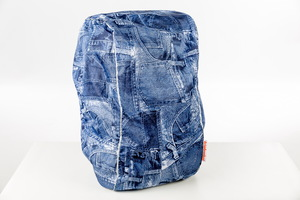 DripDropBag Backpack Cover Regenhoes - Jeans Blauw