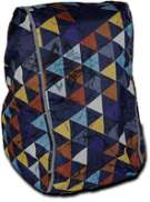 DripDropBag Rain Cover Backpack - Party/Multicolor
