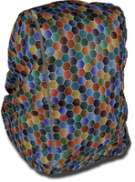 DripDropBag Rain Cover Backpack - Spring/Multicolor