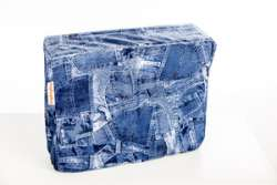 DripDropBag Shoulder Bag Cover Rain Cover - Jeans Blue