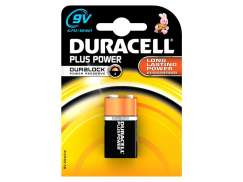 Duracell Plus Power 6LR61 Block Battery 9V