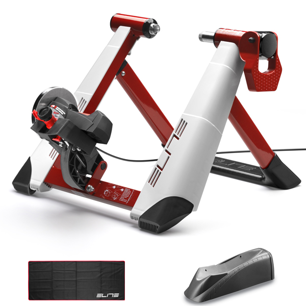 Elite Fietstrainer Novo Force Pack Wit/Rood