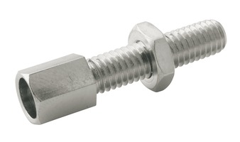 Elvedes Cable Adjuster Bolt M5 Brass - Silver (1)