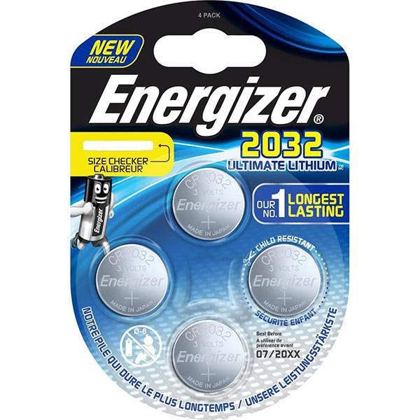 878f62011 Comprar Energizer CR2032 Baterías 3V - Plata (4) en HBS