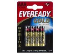 Eveready Ouro LR03 AAA Baterias (4)
