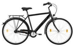 "Excelsior Road Cruiser Alu ND Homme 28"" 55cm 3V Mf - Noir"