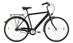 "Excelsior Road Cruiser Alu ND Homme 28"" 55cm 7V Mf - Noir"