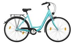 "Excelsior Road Cruiser Alu ND Kobiety 28"" 46cm 3S Ph - Turq"