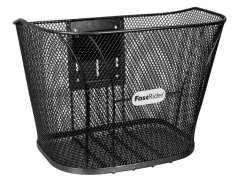 FastRider Handlebar Basket Betuwe Fixed - Black