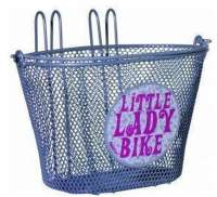 FastRider Kinderkorb Little Ladies Bike Silber