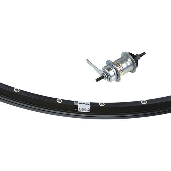 aad59762ec8 Gazelle Rear Wheel Vision 28 Inch 32 Hole Nexus 3 - Black 1 | Rear wheel