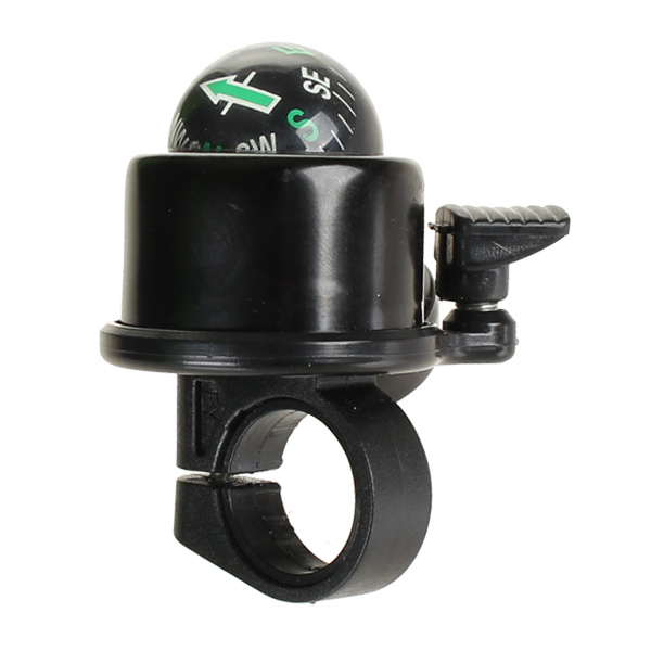 HBS Bicycle Bell 40mm Compass Black | Bells