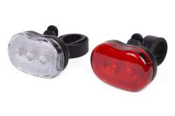 HBS Lightingset Kate 3 LED Front + Rear