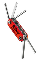 IceToolz Amaze-19 Multi-Tool 19-Parts - Red/Silver