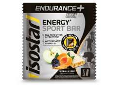 Isostar Long Energy Barre Énergétique Fruit - 3 x 120g