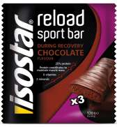 Isostar Reload Barra De Energia Chocolate - 3 x 120g