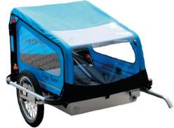 Kids Touring Doggy Tourer L Dog Cart - Blue/Black