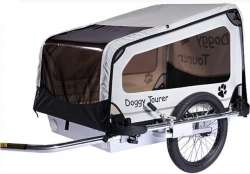 Kids Touring Doggy Tourer M Dog Cart - Silver/Black