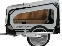 Kids Touring Doggy Tourer S Dog Cart - Silver/Black