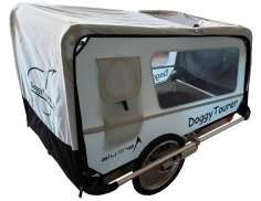 Kids Touring Doggy Tourer XL Dog Trailer - Silver/Black