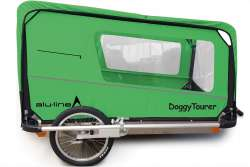 Kids Touring Doggy Tourer XL Honderkar - Vihreä/Musta