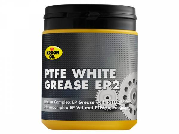Kroon Oil White Grease with PTFE (Teflon) Can 600 Gram
