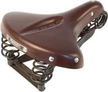 Lepper Drieveer 90V Bicycle Saddle Unisex 280x230mm - Brown