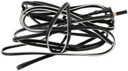 Light Cable 2-Wire with 2 Plugs 200cm - Black