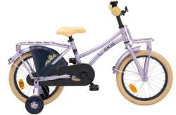 "Loekie Country Tour Pigecykler 16"" Bremsenav - Lilla"