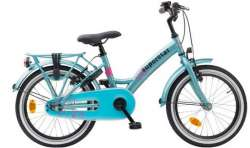 Loekie Superstar Bici Da Bambina 18 Inch Mozzo Freno - Blue