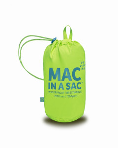 Mac in a Sac Regenjas Geel- Maat M
