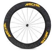 Miche Wheel Protective Cover For. 1 Wheel - Black/Yellow