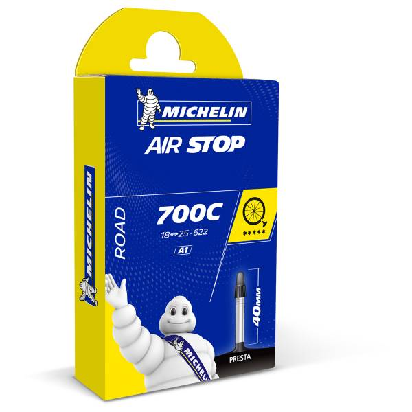 Michelin Inner Tube A1 Airstop 18/23-622 40mm Presta Valve | Tubes