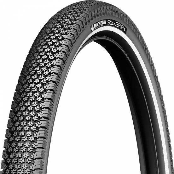Michelin Tire 28x1 58x1 38 Star Grip Anti Puncture Reflex