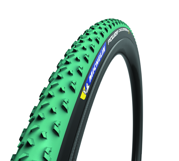 Michelin Tube Power Mud Neumático 33-622 - Negro/Verde