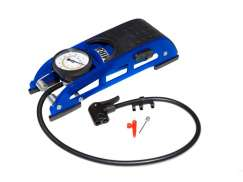 Mirage Prestige Track Pump Manometer - Blue/Black