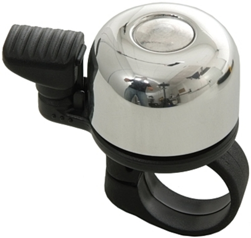 Mounty Bicycle Bell Mini Billy Alu - Silver | Bells