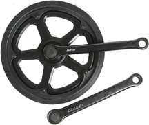 Mp Crankset 46T 170mm Cotterless with Chainguard - Black